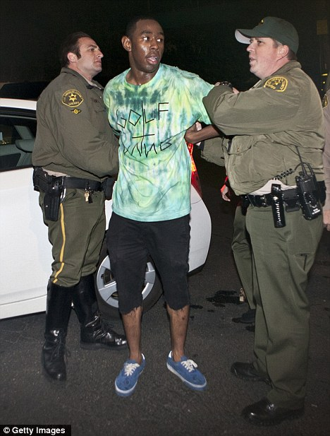 Rapper Tyler The Creator Arrested