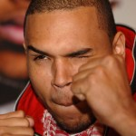 Chris Brown In A Wrestling Match With Miranda Lambert