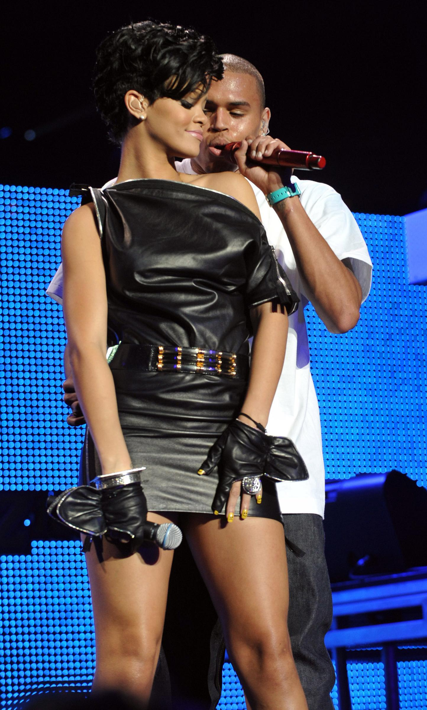 Say It Ain't So, Chris Brown on Rhianna's New Song