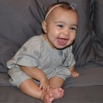 Kanye West And Kim Kardashian's Daughter North West Takes Her First Steps