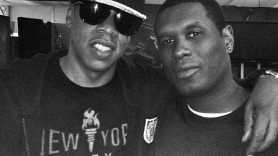 Jay Z makes surprise appearance with jay electronica at brooklyn hip-hop fest
