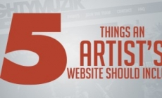 5 Things An Artist's Website Should Include