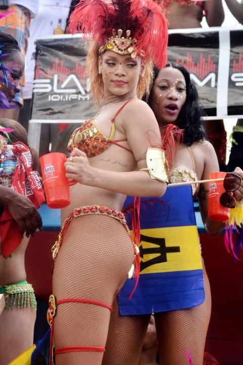 Rihanna The Official Drunken Queen of Barbados