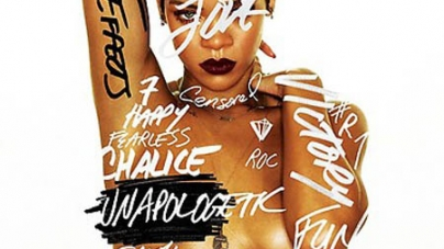 Rihanna Goes Topless and Reveals New Album Title